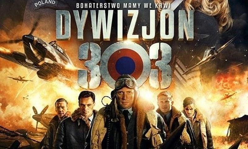 Plakat z filmu Dywizjon 303
