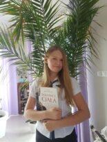 Paulina - laureatka konkursu biologicznego