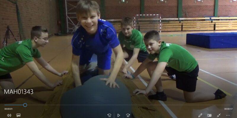 Trening klasy sportowej