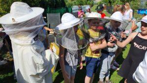 Z wizytą u pszczelarza
